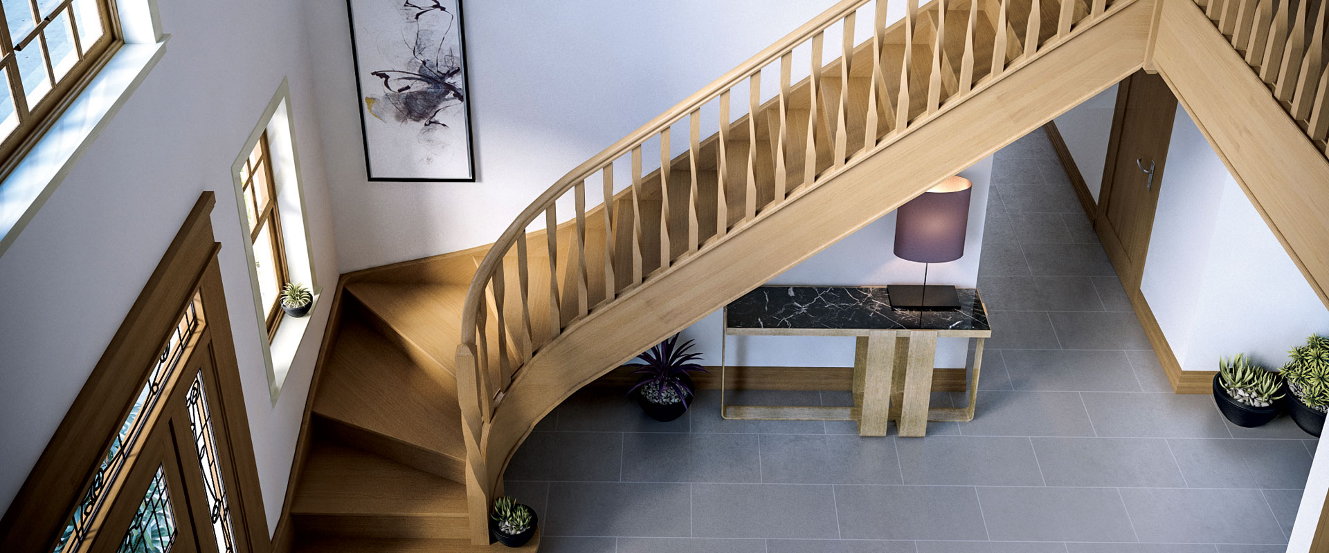 Contemporary Stair Components Range