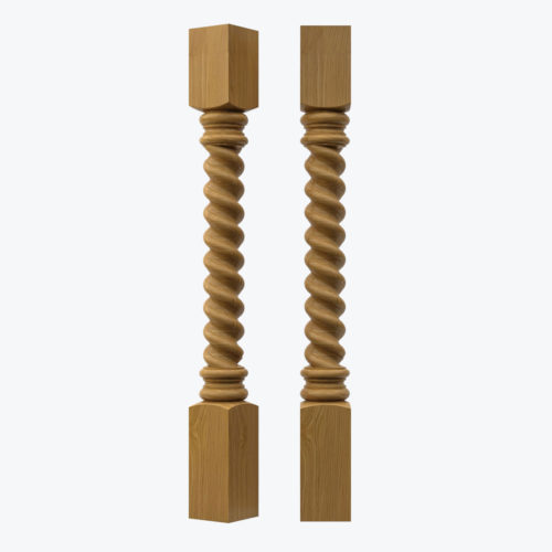 Barley Twist Pilaster