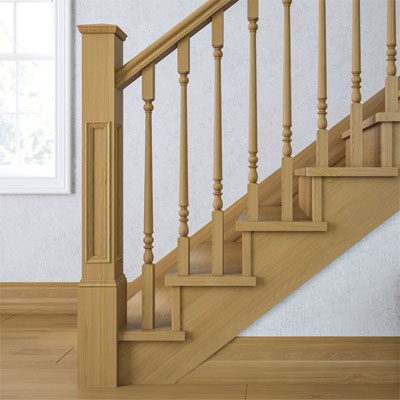 Supreme Panel Newel